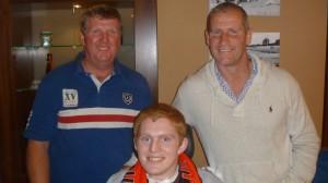 Chance meeting with Stuart Lancaster