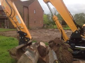 Work on the annex begins