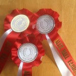Rosettes kindly sponsored by Alex Hall