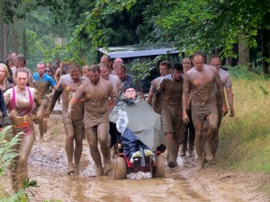 Finishing Mud Mile
