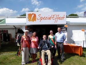 Special Effect volunteers