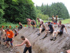 Mud mile!